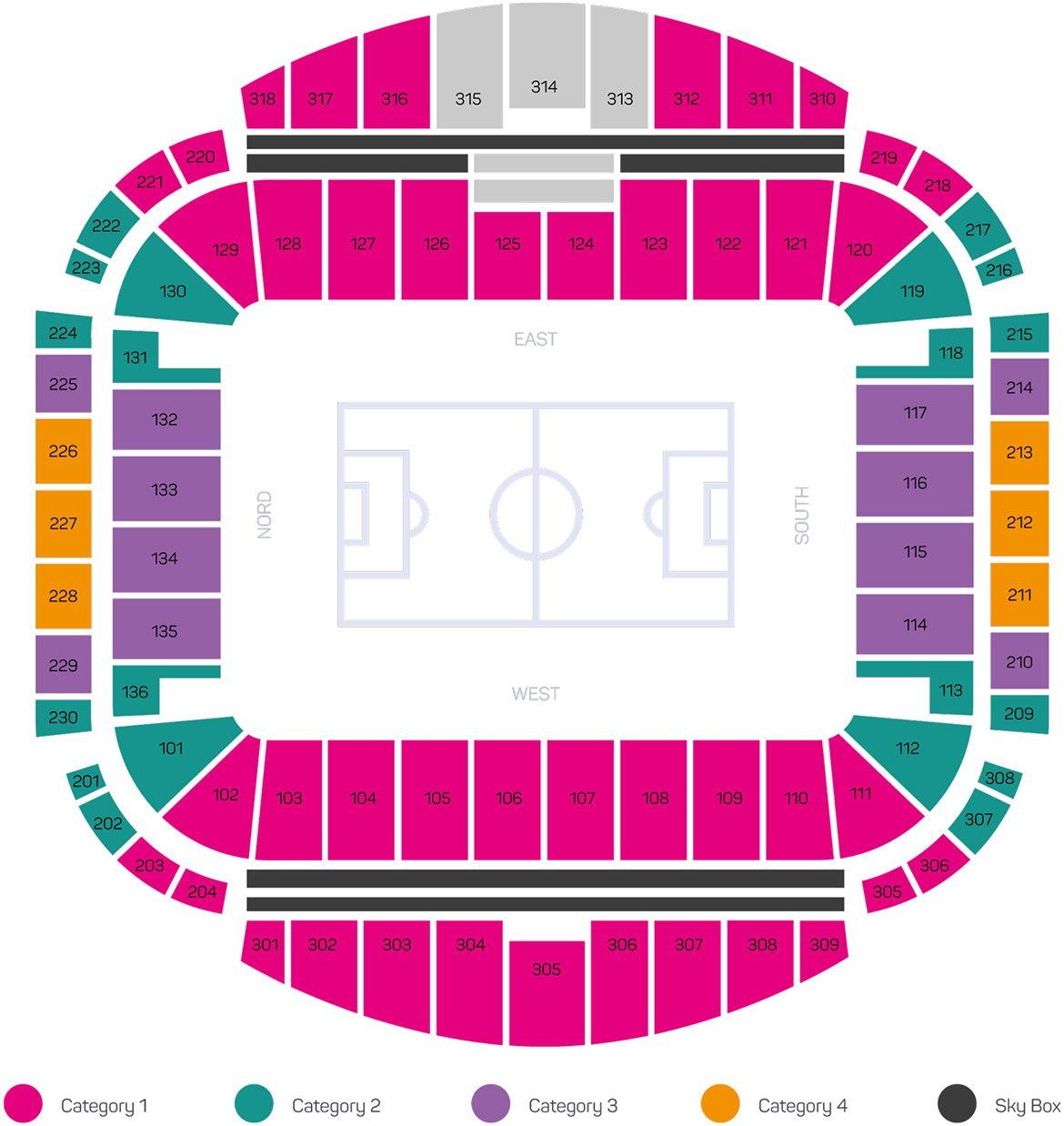 Kazan Arena - Visualization