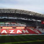 Tribunes of Kazan Arena