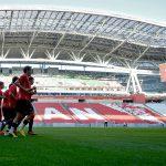 Kazan Arena - the First Match