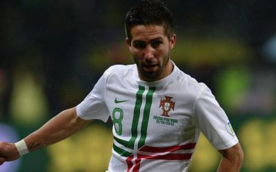 Midfielder of the Portuguese national team João Moutinho