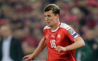 Midfielder of the national football team of Switzerland Fabian Fry