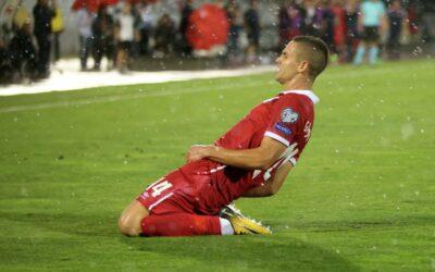 Midfielder of the national team of Serbia Miyat Gachinovich