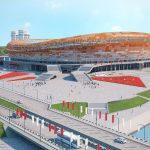3D Model of Mordovia Arena