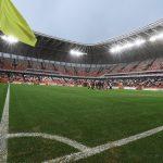 Mordovia Arena- Tribunes and Field