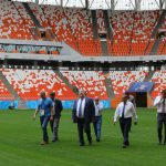 Checking the Readiness of Mordovia Arena to WC 2018
