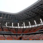 Tribunes of Mordovia Arena