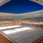 Mordovia Arena - Field is Prepared to the First Match