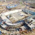 Mordovia Arena - Building Begins