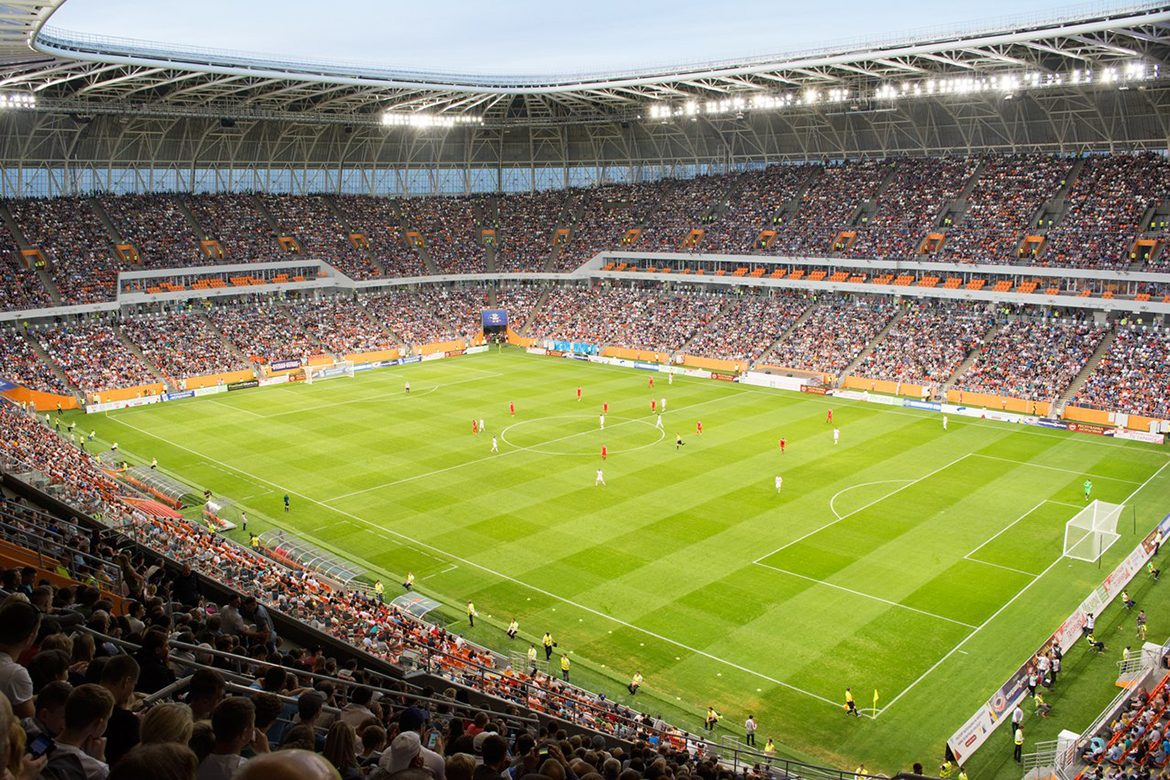 Mordovia Arena – the First Match
