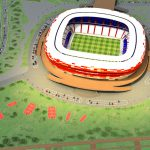 Visualization of Mordovia Arena