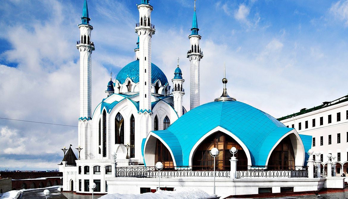 Mosque Kul Sharif in Kazan