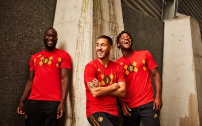 New form of the national team of Belgium