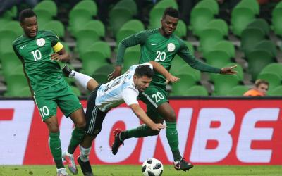Nigerians stunned the national team of Argentina