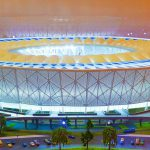 3D Model of Nizhny Novgorod Stadium