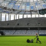 Nizhny Novgorod Stadium: Field is Prepared to the First Match