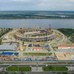 Nizhny Novgorod Stadium - Building Continues
