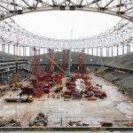 Nizhny Novgorod Stadium - Building Begins