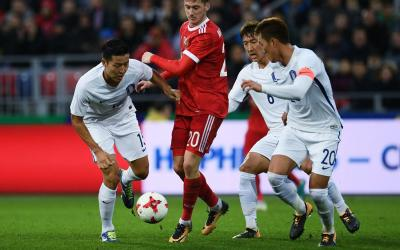 Football players of the South Korean national team