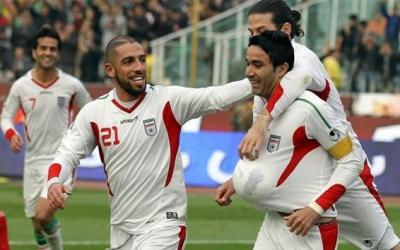 Players of the Iranian national football team