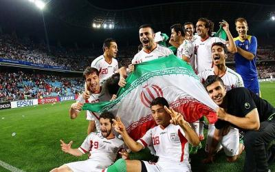 Players of the national team of Iran