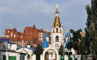 Pokrovsky Cathedral Cathedral in Samara
