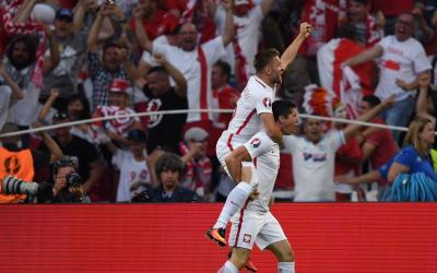 Poland squad defeated Montenegros team in qualifying match of World Cup 2018