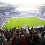 The First Match in Samara Arena