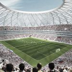 Visualization of Samara Arena