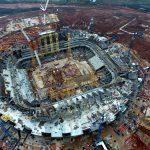 Samara Arena - Building Begins