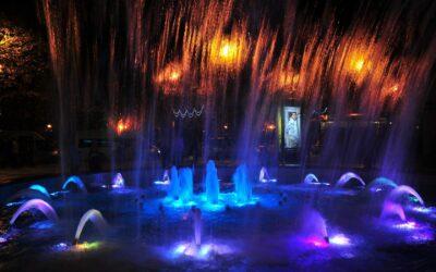 Singing fountains Sochi