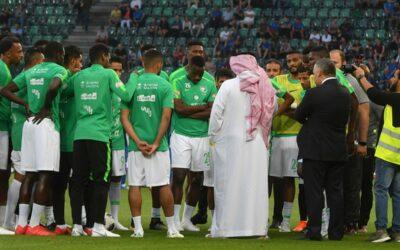 Soccer players Saudi Arabia