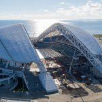 Fisht Stadium – Building Continues