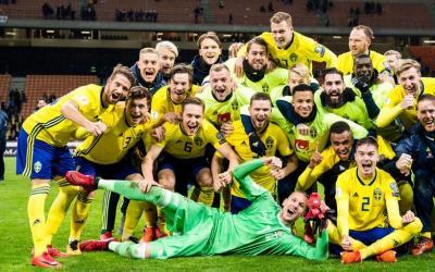 Swedish soccer team