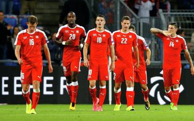 Swiss soccer team defeats Hungarians in qualifying match of World Cup 2018