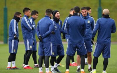 Team Argentina Messi team