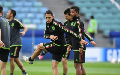 Team Mexico training