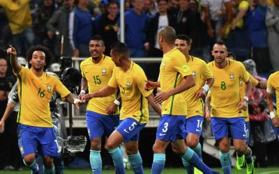 The Brazilian national team became the first team to qualify for the 2018 World Cup