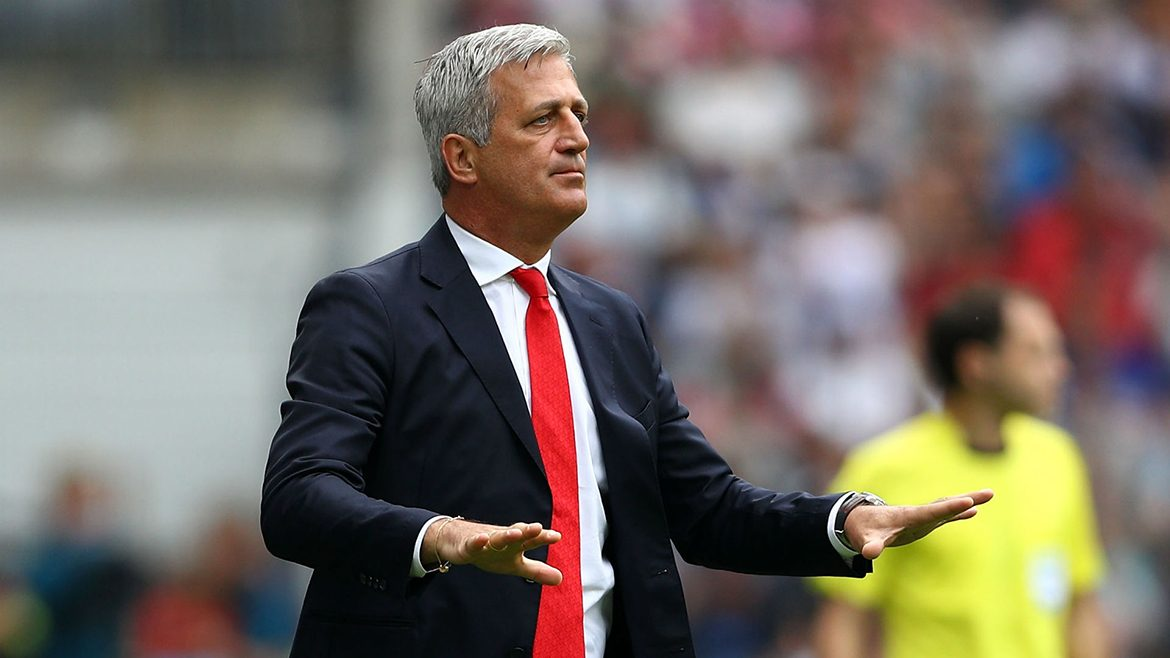 Vladimir Petkovic coach of the national team of Switzerland