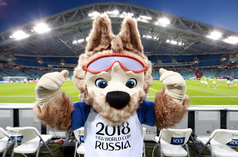 Zabivaka-wolf. WC-2018 Mascot