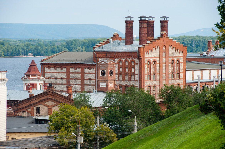 Zhigulevsky brewery factory