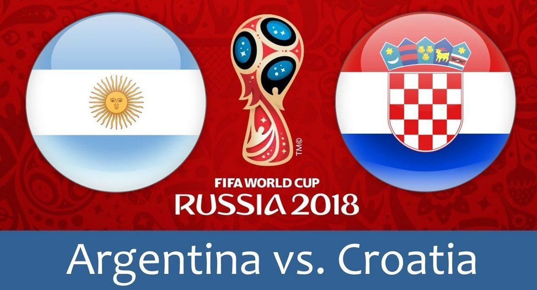 Argentina - Croatia 21 jun 2018
