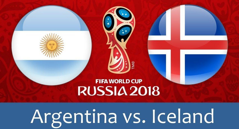 Argentina – Iceland 16 jun 2018