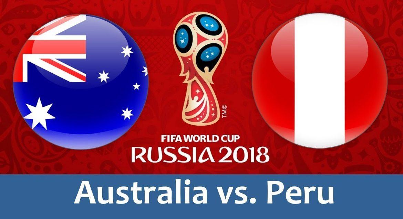 Australia - Peru 26 jun 2018