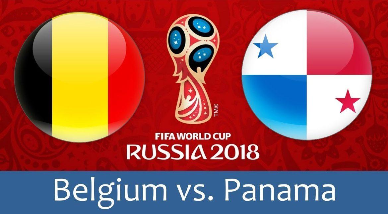 Belgium - Panama 18 jun 2018