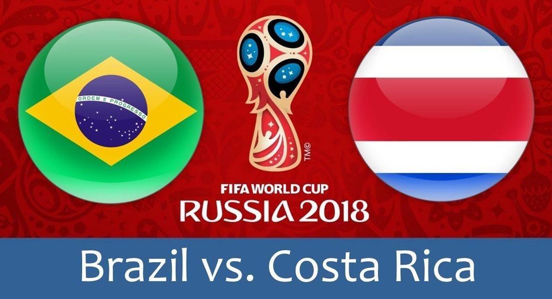Brazil - Costa Rica 22 jun 2018