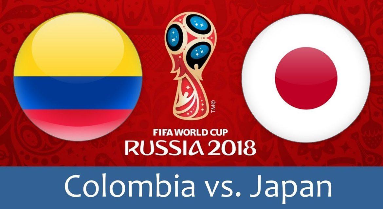Colombia - Japan 19 jun 2018