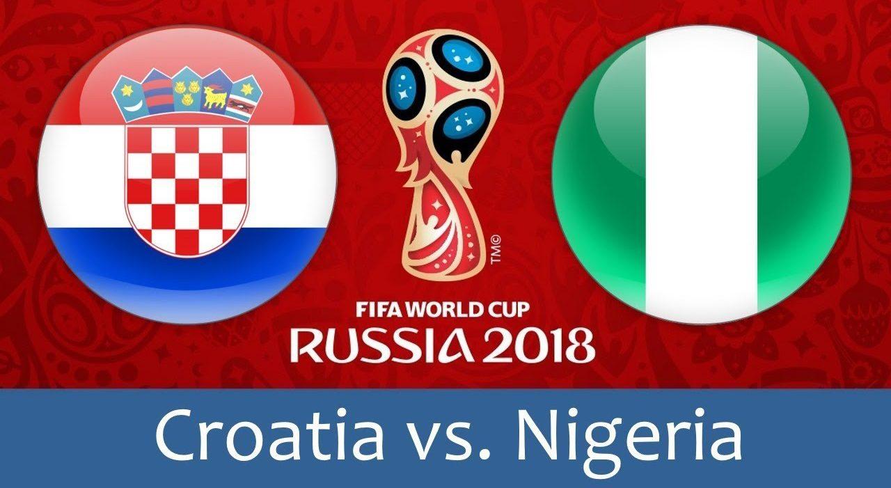 Croatia - Nigeria 16 jun 2018