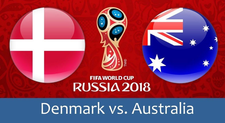 Denmark - Australia 21 jun 2018