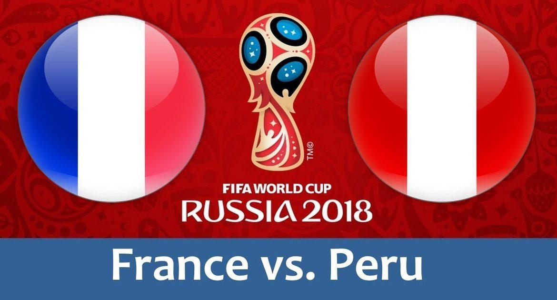 France - Peru 21 jun 2018