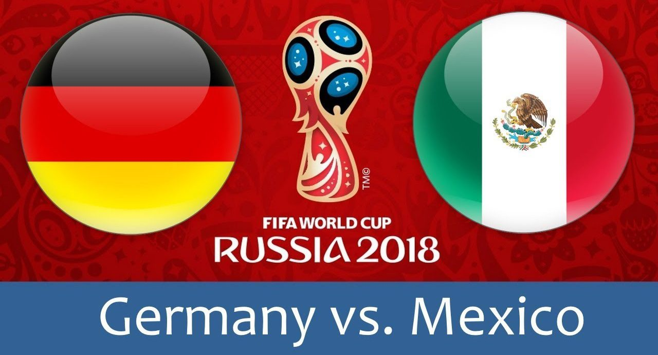Germany - Mexico 17 jun 2018